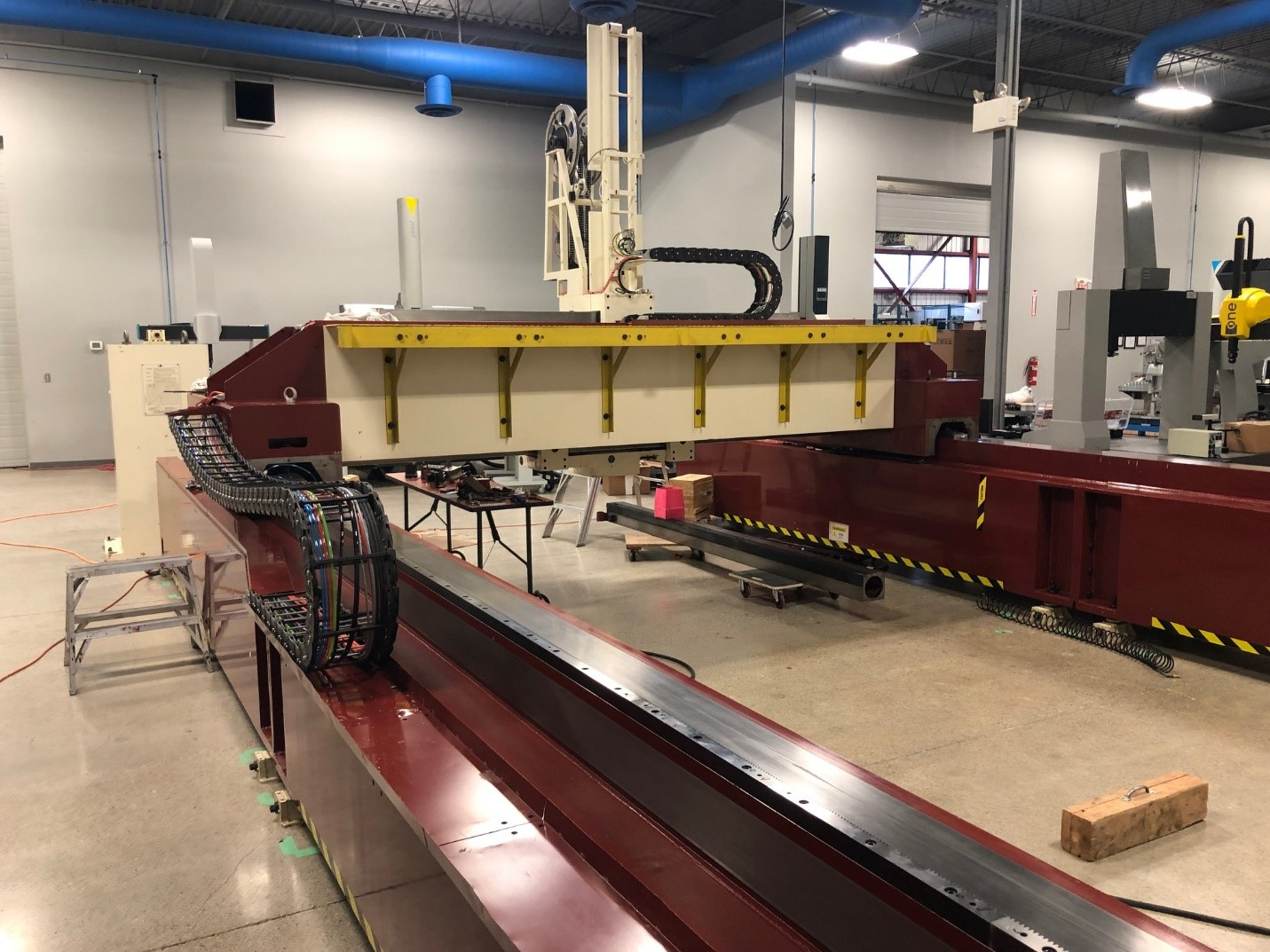 DEA Delta Gantry ready for retrofit
