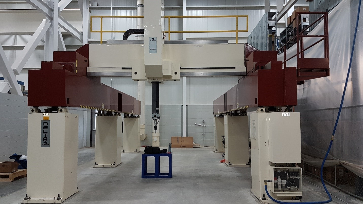 Successful CMMXYZ retrofit of a DEA Delta Gantry CMM