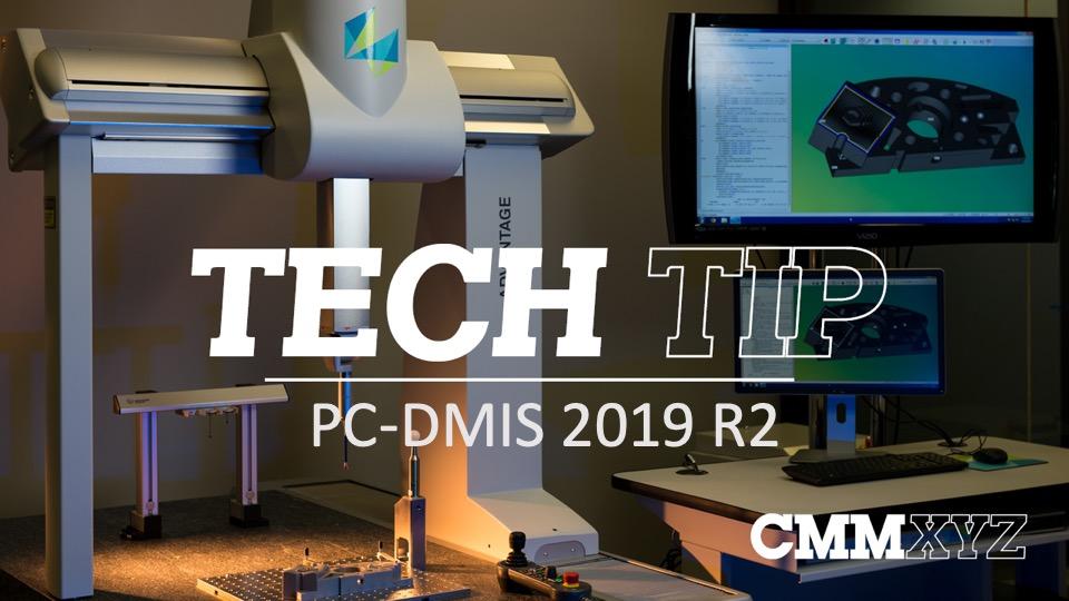 PC-DMIS 2019 R2