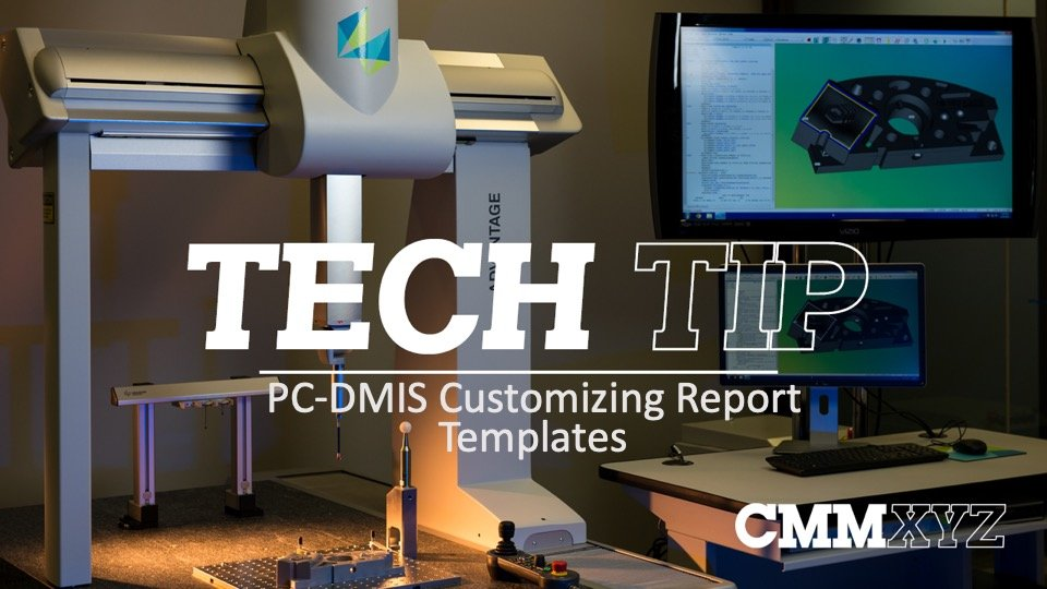 PC-DMIS Report Templates